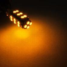 Kit 10 lâmpadas 28 led smd t10 w5w pingo leds (branco/vermelho/amarelo/gelo azul)