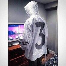 Mode Yeezus Jacke Männer Virgil Windjacke 3 Yeezus Tour Kanye West Gefälschte Yeezy Saison Hip-hop-jacken Yeezus Jacke