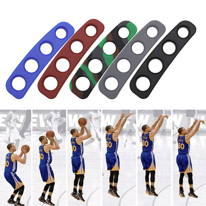 S Size 5 Colors Silicone Shot Lock Basketball Trainer Three-Point Shooting Training Hot W15
