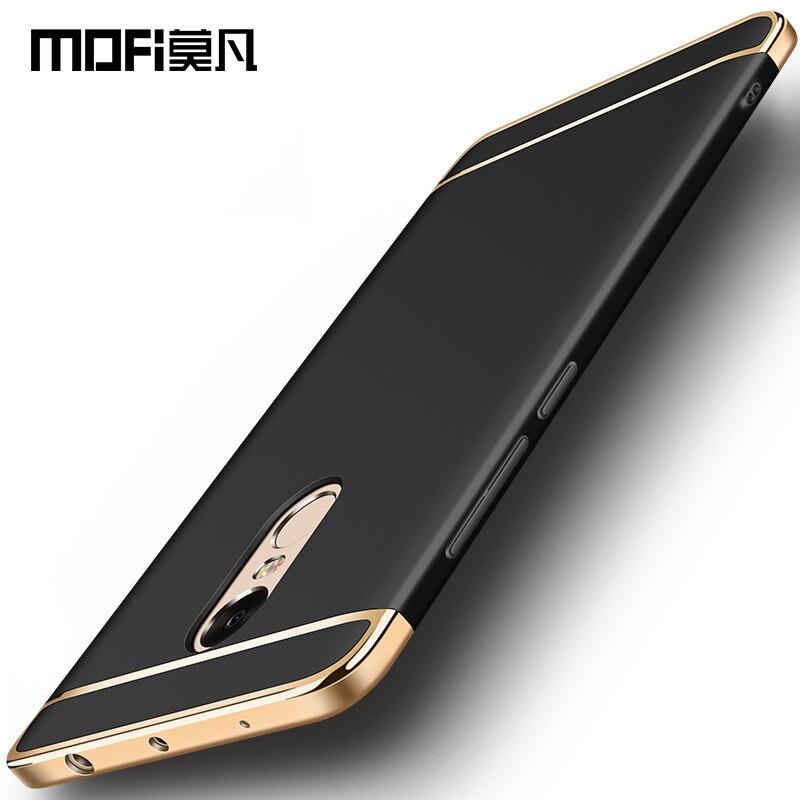 Xiaomi redmi note 4 pro cas couverture redmi note 4X pro 4G 64G dur de couverture arrière de protection capas MOFi xiaomi redmi note 4 cas 5.5