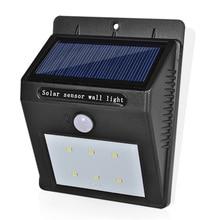 LED Solar Lamp Waterproof IP65 Solar Light Power Garden LED Solar Light Outdoor ABS Wall Lamp