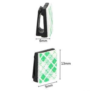 Image 4 - 40Pcs accessori interni cavo dati per veicoli per Auto cavi per montaggio su fascette Clip di fissaggio fissaggio automatico e organizzatore di Clip