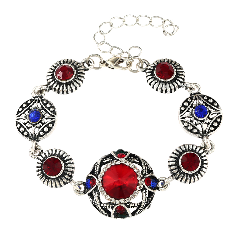 MIARA.L Hot Selling Alloy Bracelet Creative Fashion Hipster Retro Micro-inlay Jewelry for Women