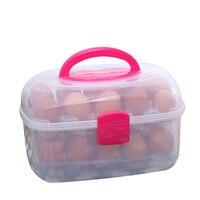 冷蔵庫格納する卵24卵オーガナイザーボックス台所卵収納ボックスオーガナイザー屋外ポータブルストレージ卵袋