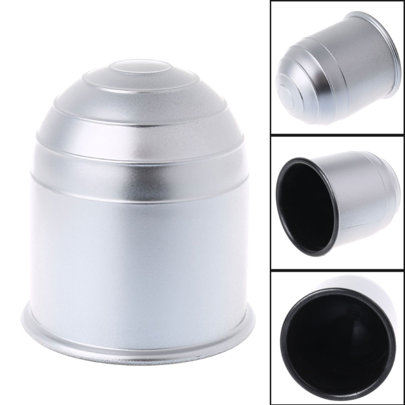 Universal 50mm Tow Bar Ball Cover Cap Towing Hitch Caravan Trailer Protect