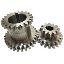 2Pcs/Set Cj0618 Teeth T29Xt21 T20Xt12 Dual Dears Metal Lathe Gear Duplicate Gear Double Gear стоимость