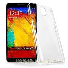 For Samsung Galaxy Note 3 III N9000 New High Quality Hard Plastic Crystal Clear Luxury Case Back Cover Free Shipping