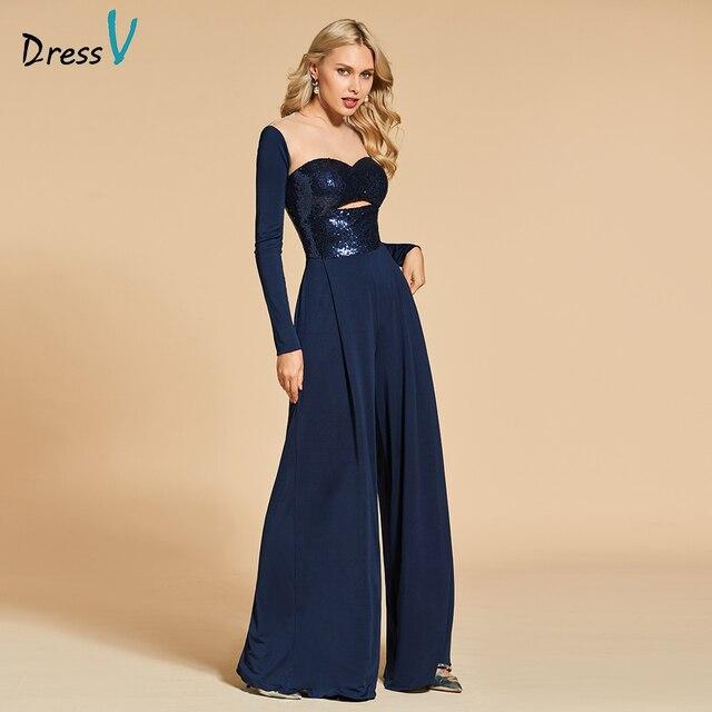Navy Dresses for Evening Weddings