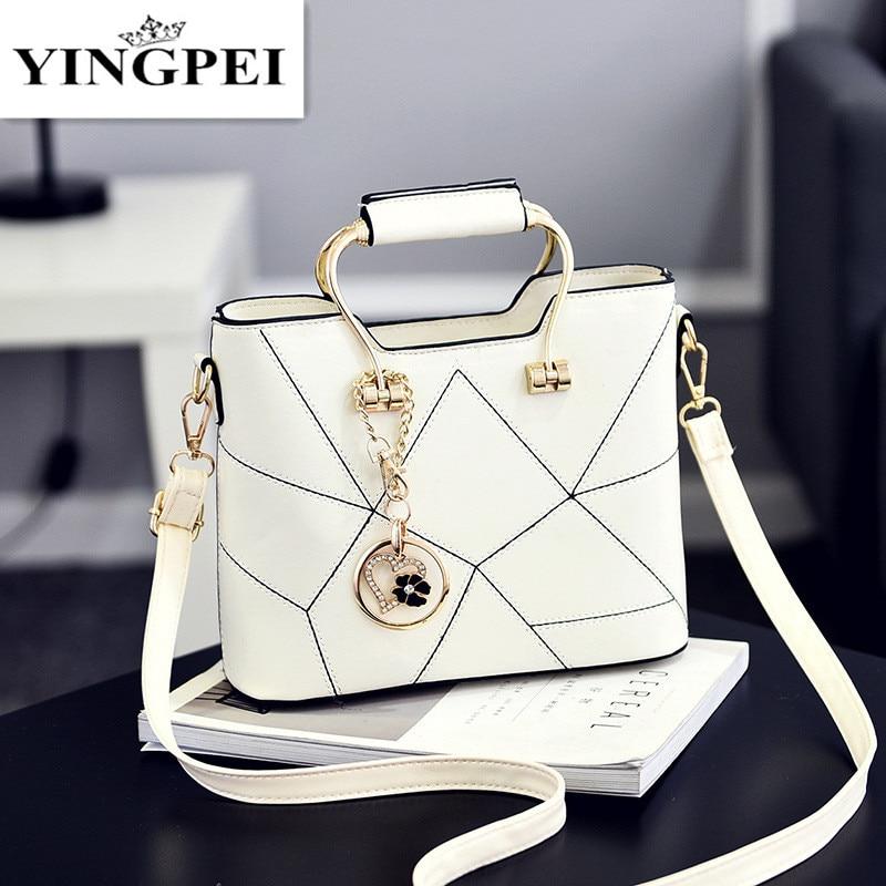 YINGPEI Women Shoulder Bags Female Women Messenger Top-Handle Bag Small Tassel Handbags Tote Handbag Designer Bolsas