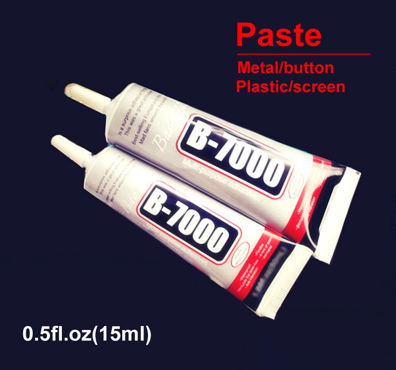 Ymitn B7000 15ml Industrial Strength Super Adhesive Clear Liquid B-7000 Glue Diy Phone Repair Phone Paste Metal/button/screen