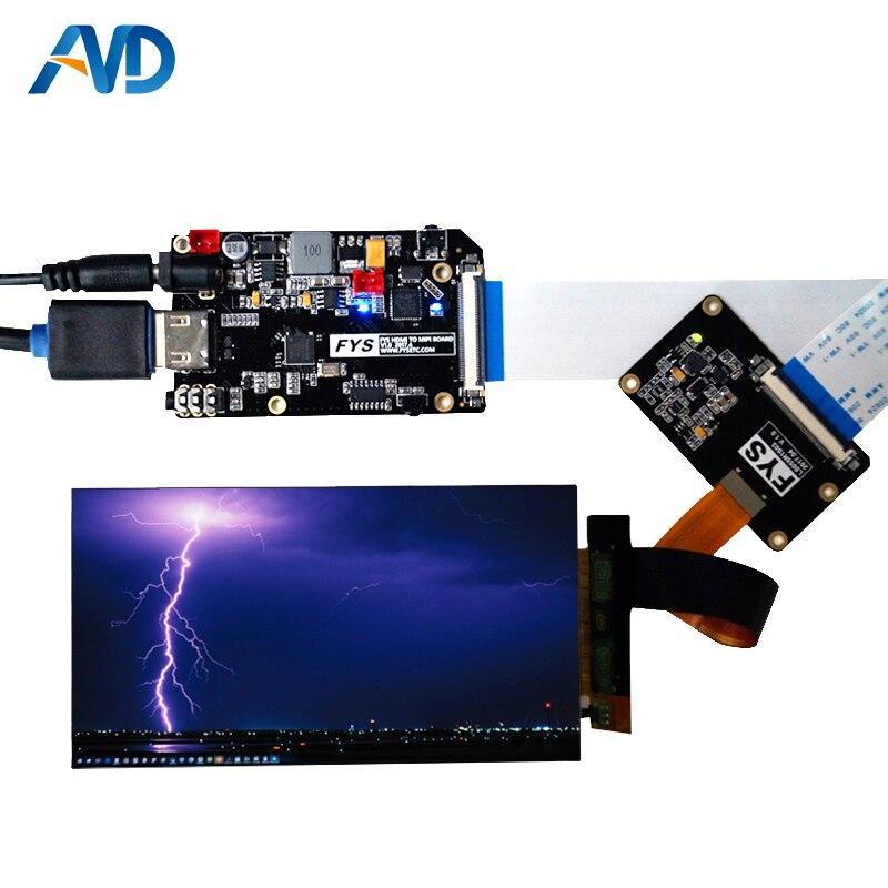 5,5 дюймов 1440 P 2560 1440 экран модуль с HDMI драйвер платы для Wanhao Дубликатор 7 3D принтеры VR Стекло