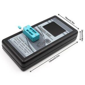 Image 3 - متعددة الأغراض الترانزستور تستر 128*160 ديود الثايرستور السعة المقاوم الحث MOSFET ESR مقياس قدرة دائرة التوالي TFT اللون العرض