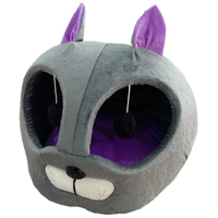 Cartoon Cat Head Shape Cat S House Winter Dog Beds For Small Dogs Windproof Dog House