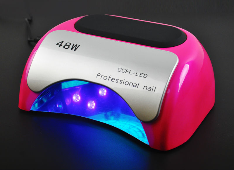 LED Ongles Lampe Ongles Sèche-Diamant En Forme 48 W Long LIife LED CCFL Durcissement Nail Outils pour UV Gel Vernis À Ongles Art Outils