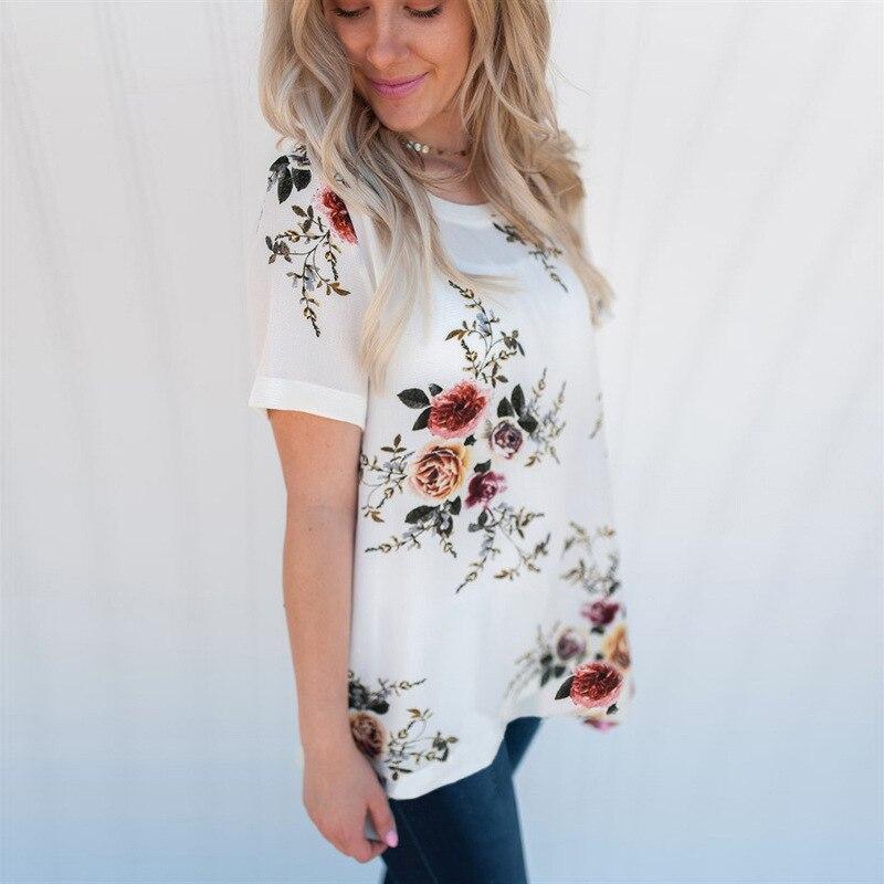 Женская шифоновая рубашка на лето 2019