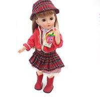 Bebe Princess Reborn smart talking doll toys for children gift 46cm full vinyl girl dolls modeling doll silicone baby dolls