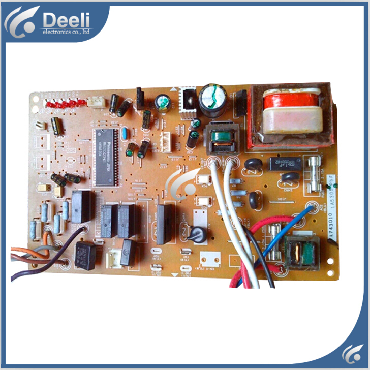 95% new good working for Panasonic air conditioning motherboard A743011 pc board control board on sale 95% new original good working refrigerator pc board motherboard for samsung da41 00437a rs19brps da41 00437 da41 00437g on salev