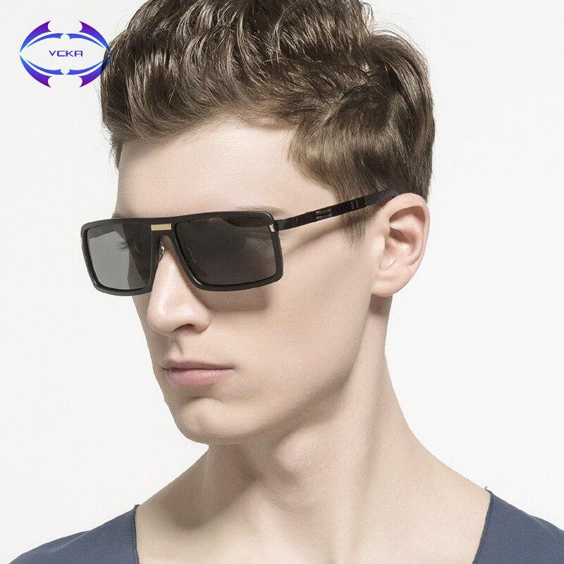 VCKA 2017 font b New b font Arrival Polarized Sunglasses Men Brand Designer Vintage Male font