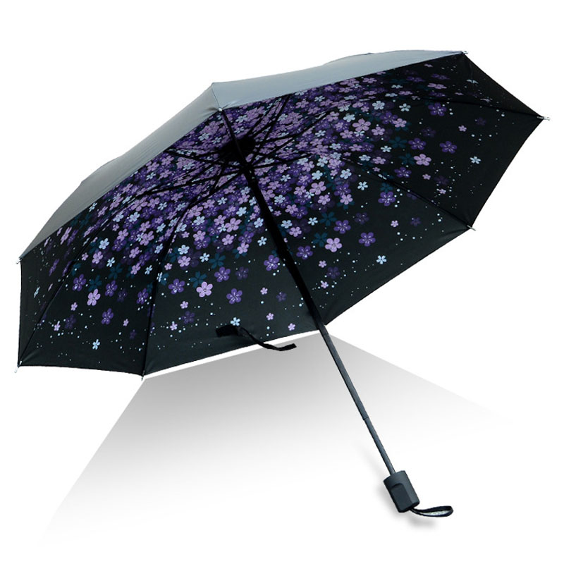 Patio Umbrella Uv Protection: UV Protection Windproof Men Women Sun Rain Umbrella