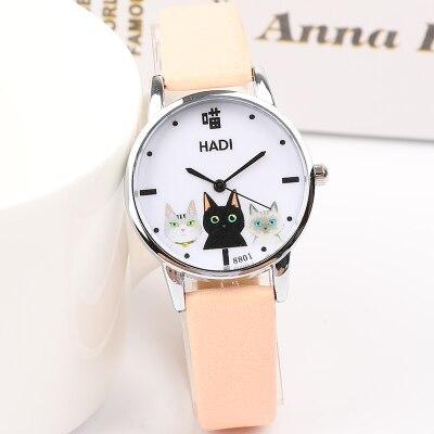 Японский небольшой свежий для девочек походные часы женский Корейская версия простой Harajuku милые средней школы студентов мягкие gi