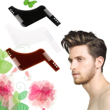 Beard Hair Shaving Comb Brush Template Tool Shave Form Lines Men Grooming Shaper