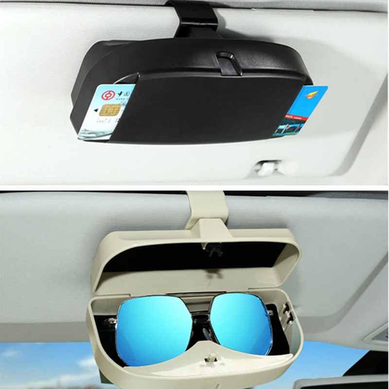Universal Car styling sun glasses case box for Audi A1 A2 A3 A4 A5 A6 A7 A8 Q2 Q3 Q5 Q7 S3 S4 S5 S6 S7 S8 TT TTS RS3 RS4 RS5 RS6