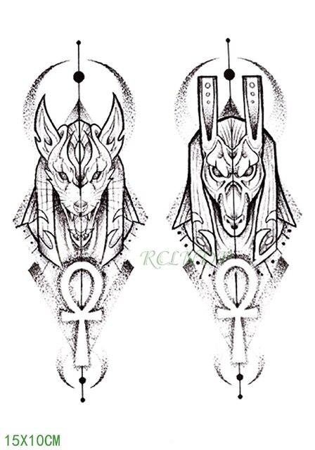 Impermeable Tatuaje Temporal Protector De La Etiqueta Engomada Del