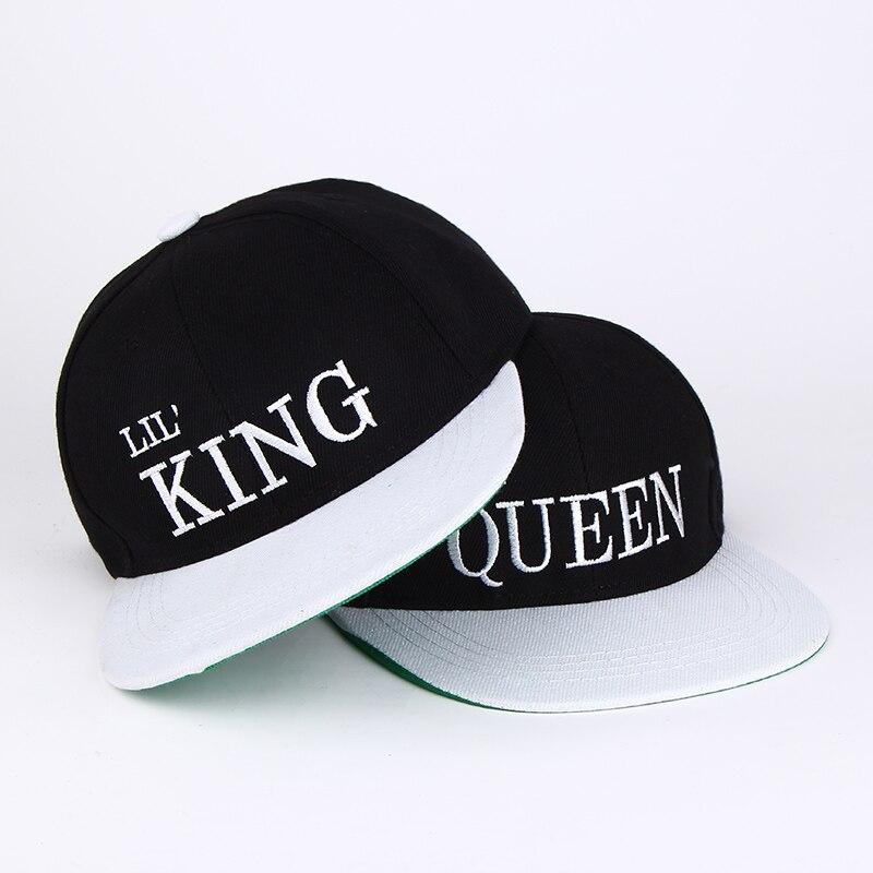 Rey reina Bordado acrílico del sombrero del SnapBack hombres ... 4ae0738126d