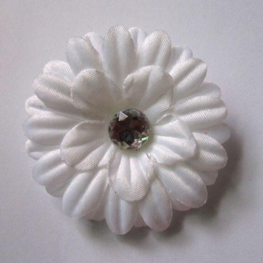 Headwear 100pcs Small Little Mini Daisy Flower Clip Christmas Flower