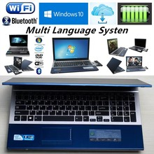 4G DDR3+320GB HDD 15.6inch Gaming Laptop N3520 Quad Core Windows 7/10 Notebook PC Laptops Computer with DVD ROM WIFI webcam HDMI