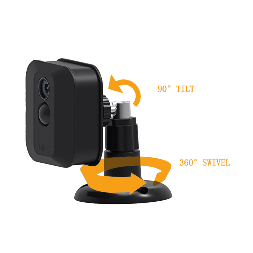 For Blink XT Camera Security Camera Weatherproof 360 Degree Protective Adjustable Mount For 1/2/3 PacksMount Bracket