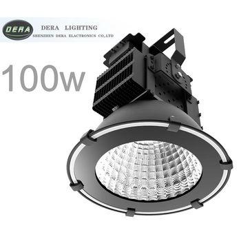 100 w haute lumière LED pour baie lampe minière LED lampe industrielle spot de plafond à LED IP65 12000lm AC 110-277 V