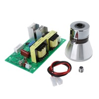 1Set Ultrasonic Generator Power Board And Transducer Vibrator AC220V 100W For Supersonic Cleaner DIY Washing Machines