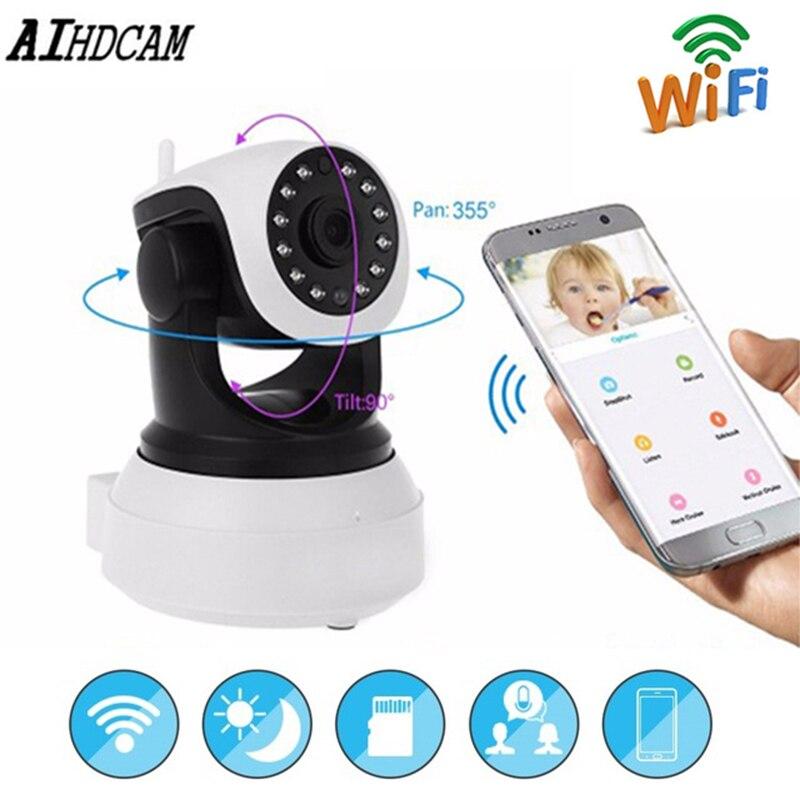 1080P WIFI IP Camera Wireless Surveillance Security Video Camera Cloud Storage Sound Motion Detection Sensor Baby Monitor IR PTZ title=