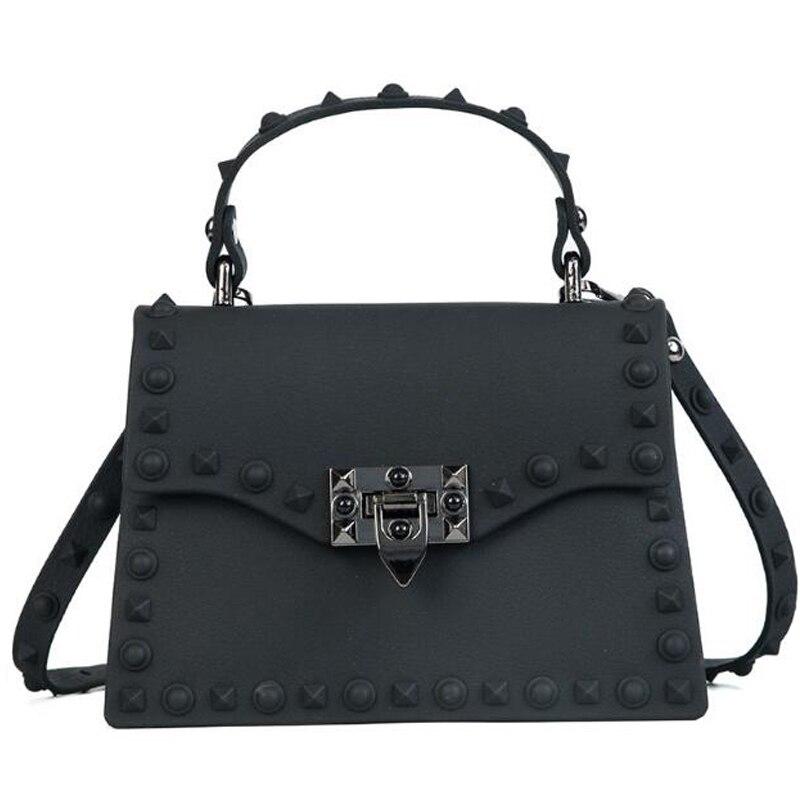 Bolsos de mensajero de alta calidad PVC transparente Jelly Bag verano chica playa moda cadenas hombro bandolera bolsos XS-502