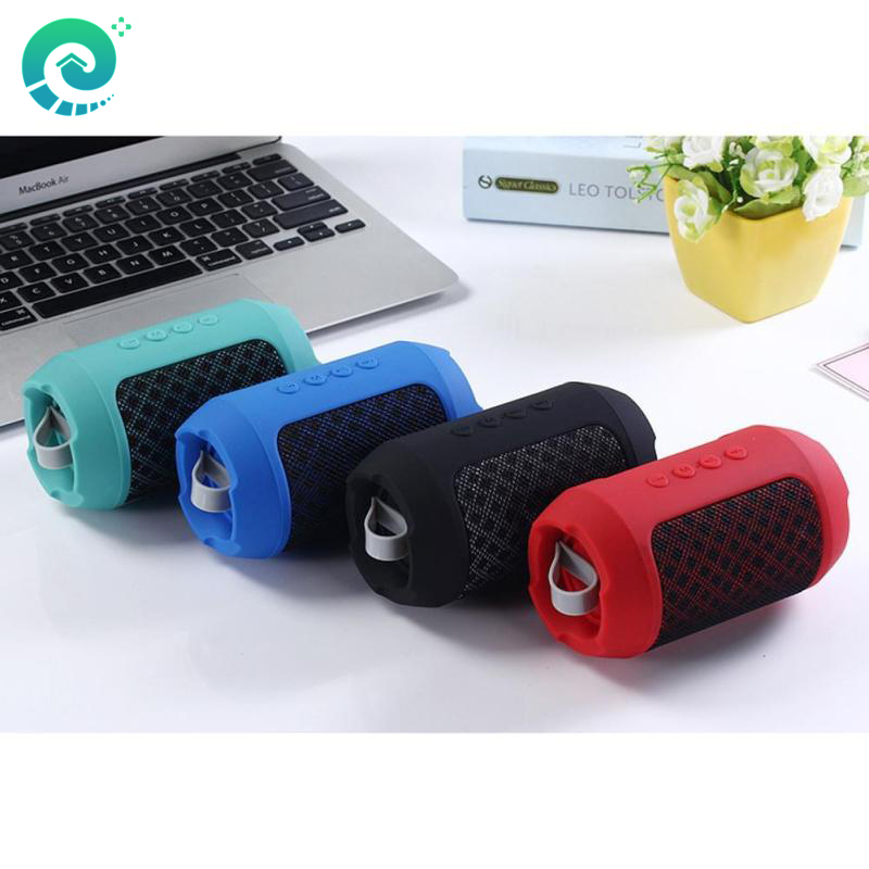 EHome BS116 Portable Mini Wireless Bluetooth Column Speaker Stereo Subwoofer Sound Support TF Card FM Handsfree Call <font><b>Loudspeaker</b></font>