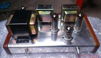Hot Sell PSVANE DIY 6N3+6P1 Tube Amplifier Class A power Amp high end Pure manual A Class amplifier