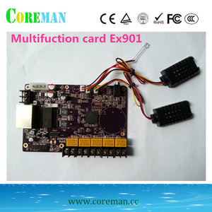 Image 2 - LINSN multifuction חיישן כרטיס EX901 EX902D בהירות טמפרטורה ולחות חיישן LINSN בקר כרטיס