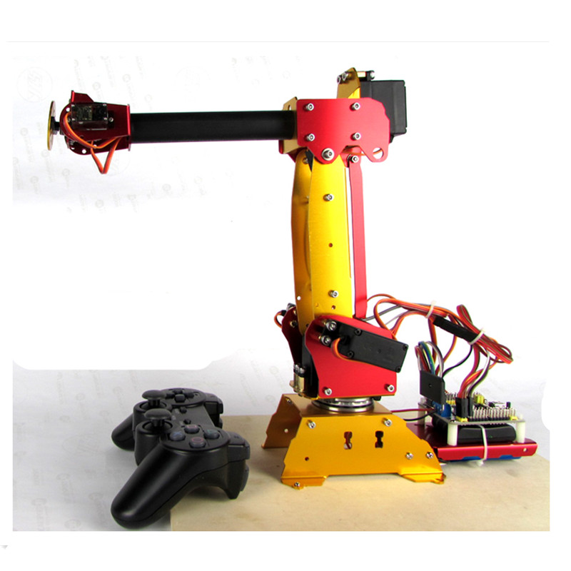 ABB 6DOF robot arm Full Metal + Digital Servos colour Industrial robots scaled model for Teaching and Experiment полюс abb 1sca105461r1001