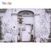 Yeele Photocall Grunge Wall Door Room Decor Painting Photography Backdrop Personalized Photographic Background For Photo Studio allenjoy photographic background grunge style concrete wooden scratches vintage new backdrop photocall photo printed customize