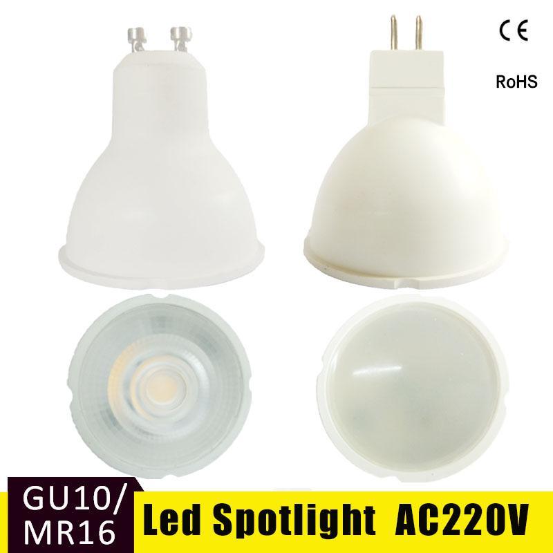 GU10 MR16 LED Bulb Lampada 6W 220V Bombillas LED Spotlight SMD 2835 Warm White Cold White Led Lamp Lampara For Home Living Room luckyled brand led spotlight mr16 gu10 3w 4w 5w 6w smd 2835 5730 ac 220v led bulb lamp warm cool white energy saving bombillas
