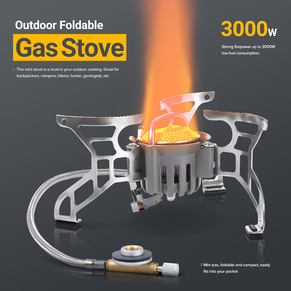 BULIN BL100 - T4 - A Camping Stove Gas Stoves Aluminum Alloy Outdoor Cooker Outdoor Stove Gas Stove Miniature Portable Picnic