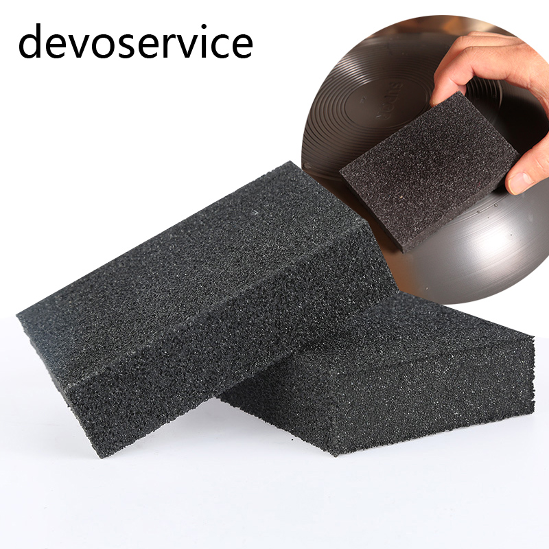 1PCS Black Melamine Carborundum Magic Sponge Brush Kitchen Home Washing Cleaning Cleaner Tool Black Rust Remover Eraser Sponge