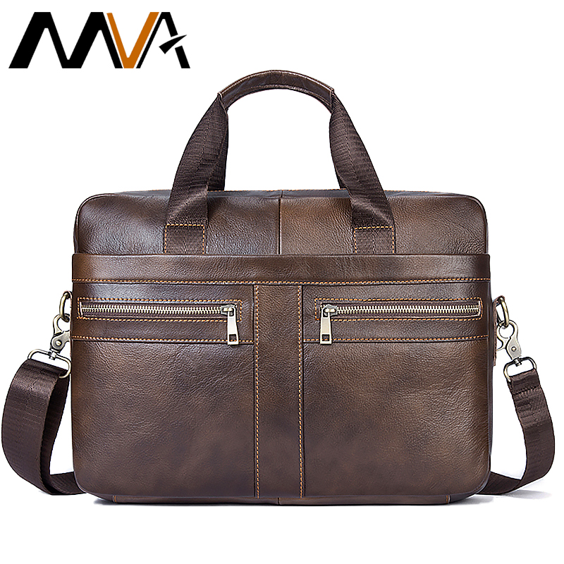 Men s Leather Bags for Man Messenger Bag Men s Male Bags Genuine Leather Travel Business