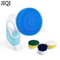JIQI Handheld Dishwashing Machine Dishwasher Multifunctional Brush Kitchen Bathroom Cleaning Brush Tile Walls Cleaner Waterproof