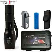 LED CREE XM-L2 X900 Flashlight 6000LM Torch Aluminum Light Zoomable Tactical Flashlight Camping Lamp For 3XAAA or 18650 Battery