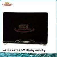 オリジナル新 A1706 A1708 Lcd グレーシルバーカラー液晶ディスプレイ画面アセンブリ Macbook Pro の網膜 13.3''