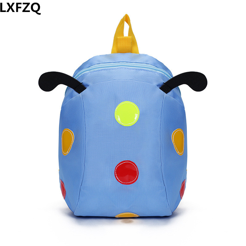 1 ~ 3 years old anti-lost children's bags 5 colors kid's backpack Cartoon school bags nylon children's backpacks цены онлайн