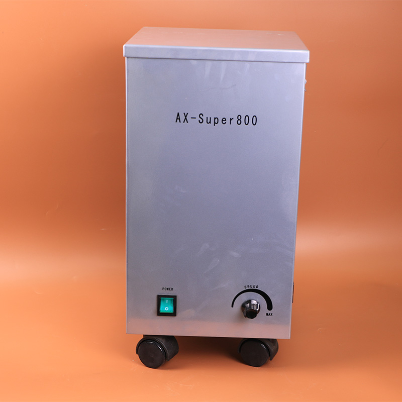 AX-SUPER800 Movable Dental Vacuum Dust Extractor Dental Lab Equipment for Dust Extraction in Dental Labs high quality 2 units dental lab dental vacuum dust extractor equipment machine collector unit ax super800