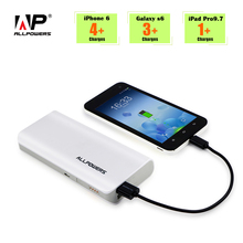 ALLPOWERS Power Bank 15600mAh Portable PowerBank Phone External Battery Charger for iPhone 6 6s 7 8 iPad Samsung Note 8 HTC etc
